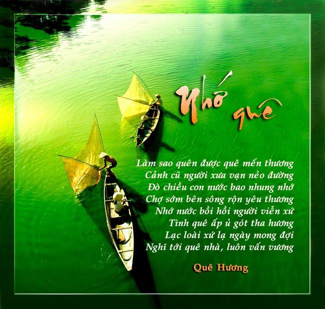Tuyển tập những bài thơ nhớ quê hương đầy cảm xúc hay nhất